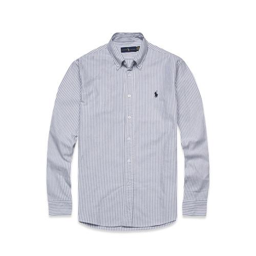 Men's Classics Long Sleeve Light Blue Stripe Shirt