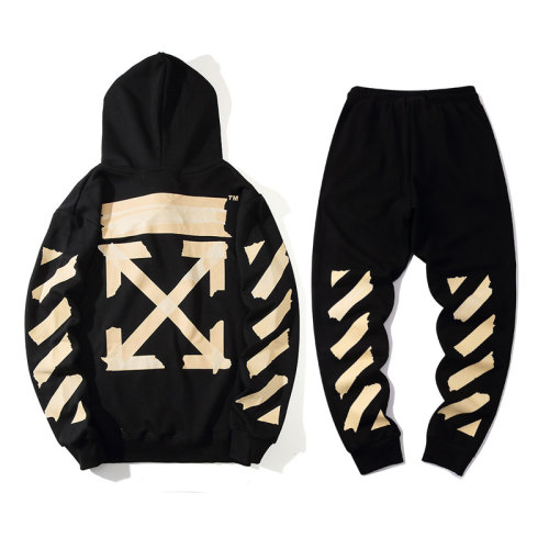 2020 Summer Fashion Hoodies & Pants Suits Black