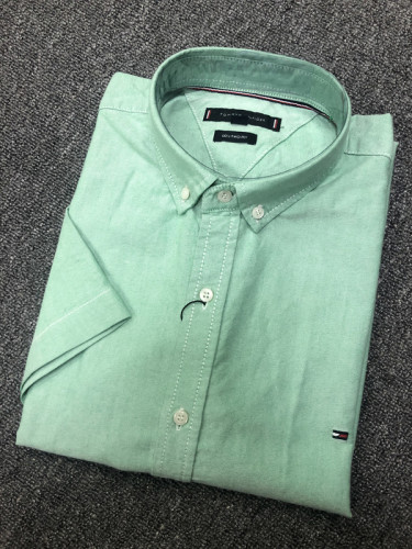 Men's Classics Short Sleeve Green Shirt
