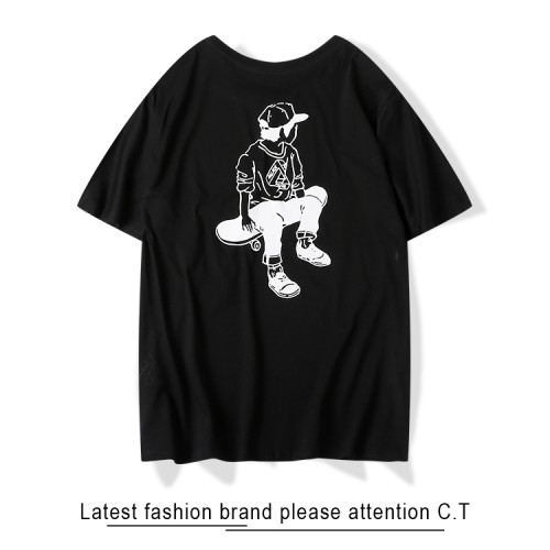2020 Summer Fashion T-shirt Black