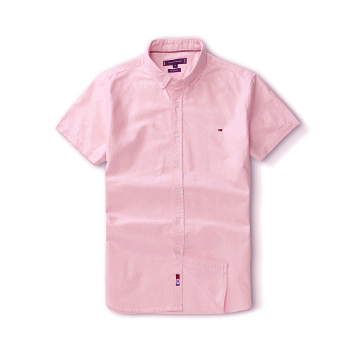 Men's Classics Short Sleeve Pink Shirt
