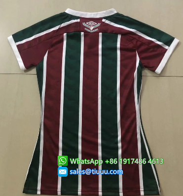 Thai Version Fluminense 20/21 Women's Home Soccer Jersey
