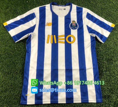 Thai Version FC Porto 20/21 Home Soccer Jersey