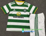 Celtic 20/21 Kid's Home Soccer Jersey and Short Kit