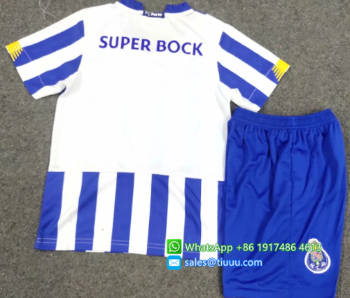 FC Porto 20/21 Kids Home Soccer Jersey and Short Kit