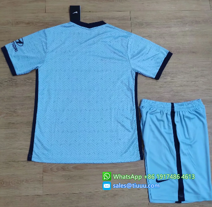 Chelsea 20/21 Away Soccer Jersey and Short Kit