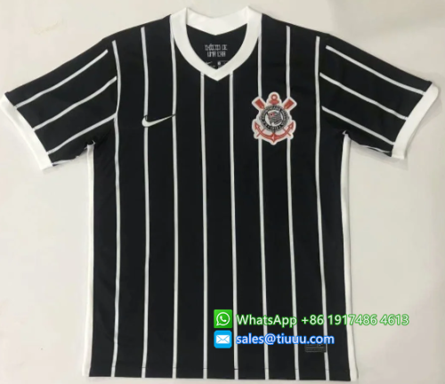 Thai Version Corinthians 20/21 Away Soccer Jersey