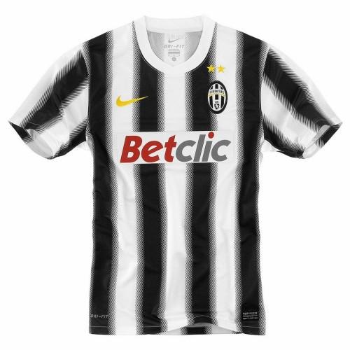 Juventus 2011/12 Home Retro Soccer Jersey