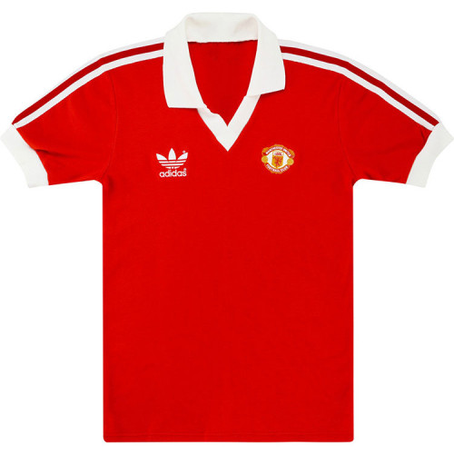 Manchester United 1980/82 Home Retro Jersey