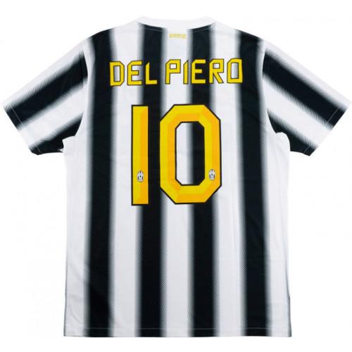 Juventus 2011/12 Home Retro Jersey #10 Del Piero