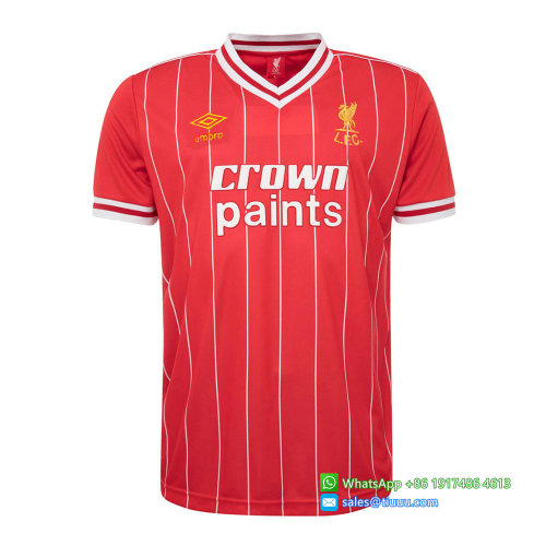 Liverpool 1983/84 Home Retro Jersey