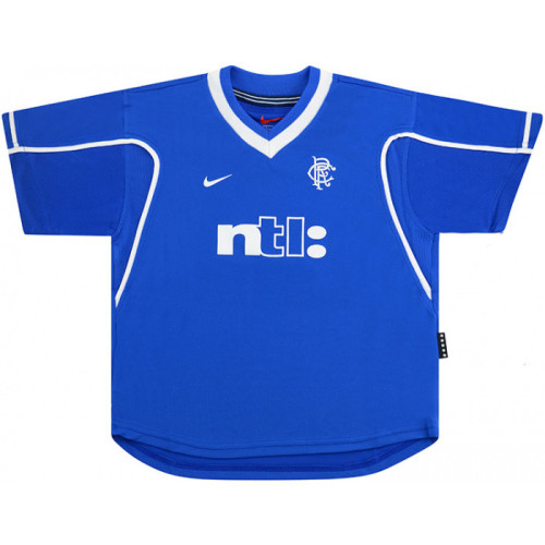 Rangers 1999/2001 Home Retro Soccer Jersey