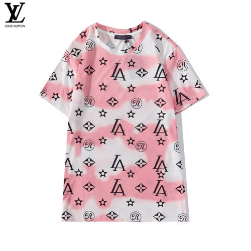 2020 Summer Luxury Brand T-shirt Pink