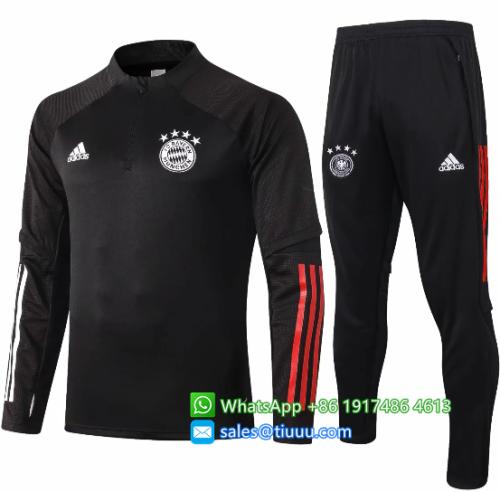 Bayern Munich 20/21 Soccer Training Top and Pants-B410