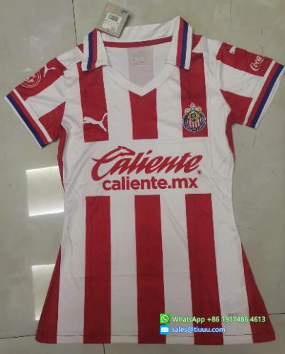 Thai Version Chivas 20/21 Women's Home Soccer Jersey