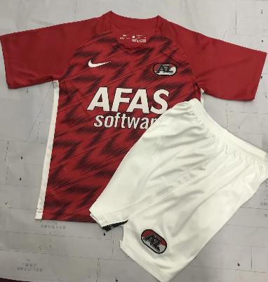 Alkmaar Zaanstreek 20/21 Home Soccer Jersey and Short Kit