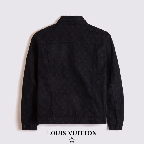 2020 Fall Luxury Brand Denim Jacket Black