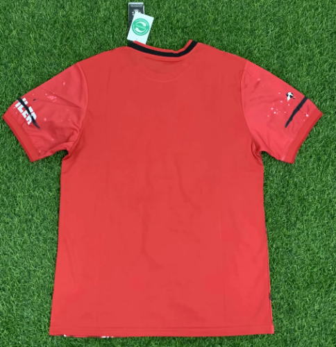 Thai Version Manchester United 20-21 Classical Soccer Jersey-Red