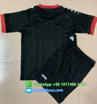 Bayer 04 Leverkusen 20-21 Kids Home Soccer Jersey and Short Kit