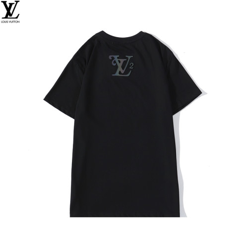 2020 Summer Luxury Brand T-shirt Reflective Black