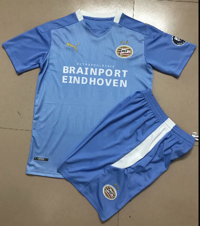 Eindhoven 20/21 Away Soccer Jersey And Short Kit