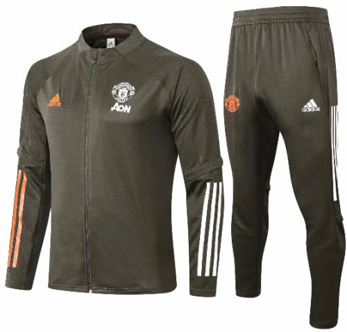 Manchester United 20/21 Jacket and Pants-A359