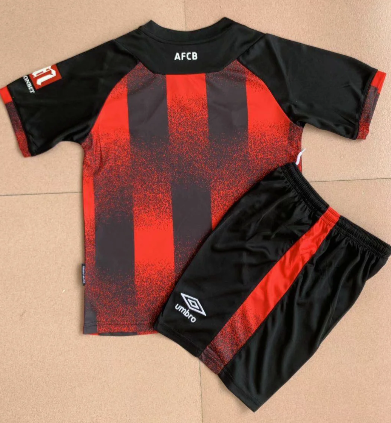 Bournemouth 20/21 Home Soccer Jersey and Short Kit