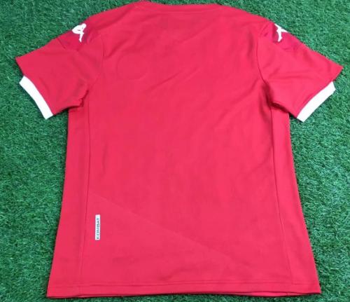 Thai Version Tunisia 20/21 Home Soccer Jersey