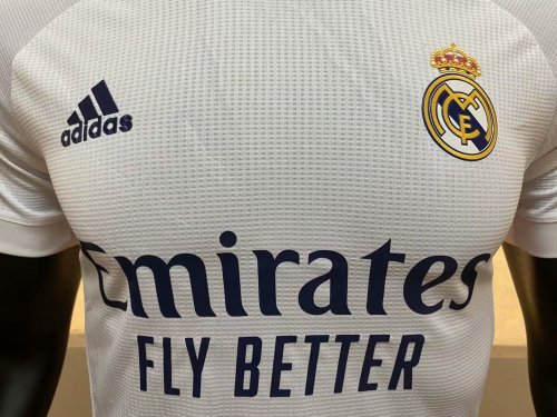 Player Version Real Madrid 20/21 Home Soccer Jersey