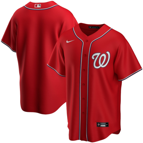 Youth Washington Nationals Red Alternate 2020 Replica Team Jersey