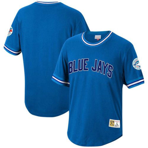 Youth Toronto Blue Jays Throwback Royal Cooperstown Collection Wild Pitch Jersey T-Shirt