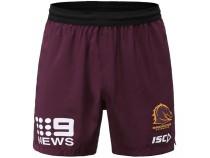 Brisbane Broncos 2020 Men's Rugby Training Shorts