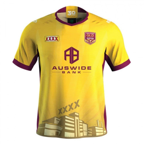 QLD Maroons 2020 Men's Training Rugby Jersey