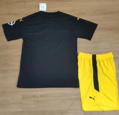 Borussia Dortmund 20/21 Away Soccer Jersey and Short Kit
