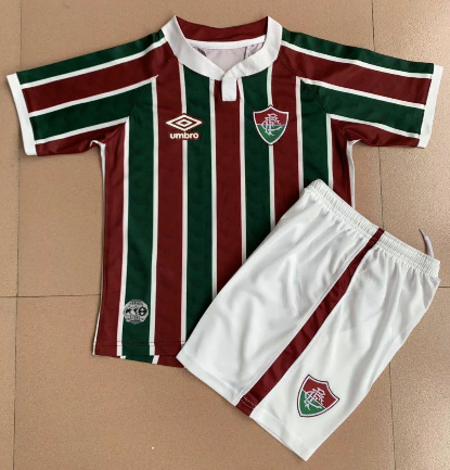 Fluminense 20/21 Home Soccer Jersey and Short Kit