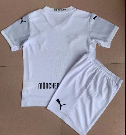 Monchengladbach 20/21 Home Soccer Jersey and Short Kit