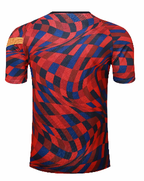 Thai Version Barcelona 20/21 Training Jersey-Red
