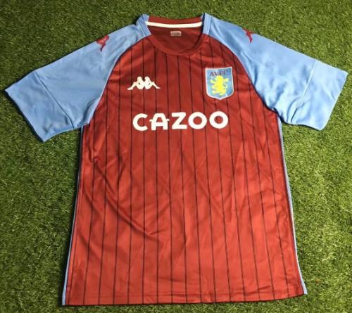 Thai Version Aston Villa 20/21 Home Soccer Jersey