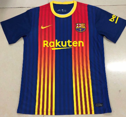 Thai Version Barcelona 20/21 Recordative Edition Soccer Jersey
