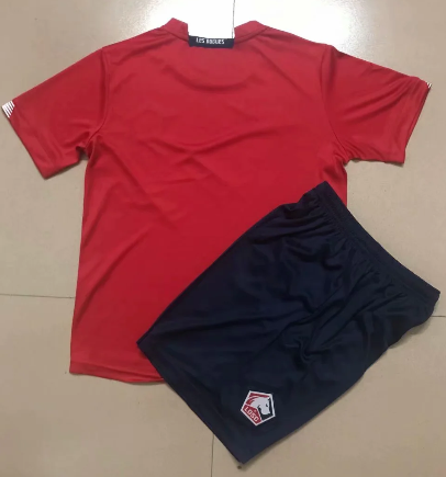 Lille 20/21 Home Soccer Jersey and Short Kit