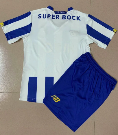 FC Porto 20/21 Home Soccer Jersey and Short Kit