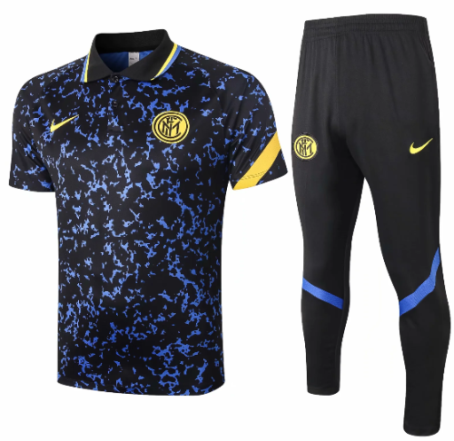 Inter Milan 20/21 Polo and Pants -C548