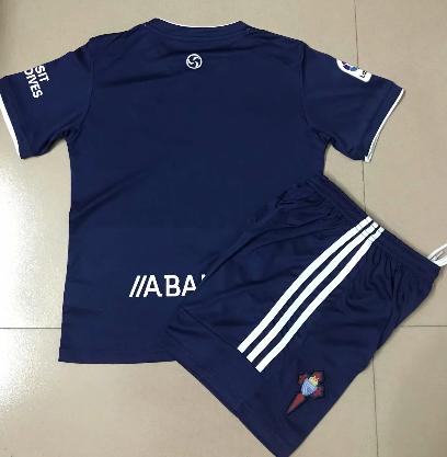 Celta 20/21 Away Soccer Jersey and Short Kit