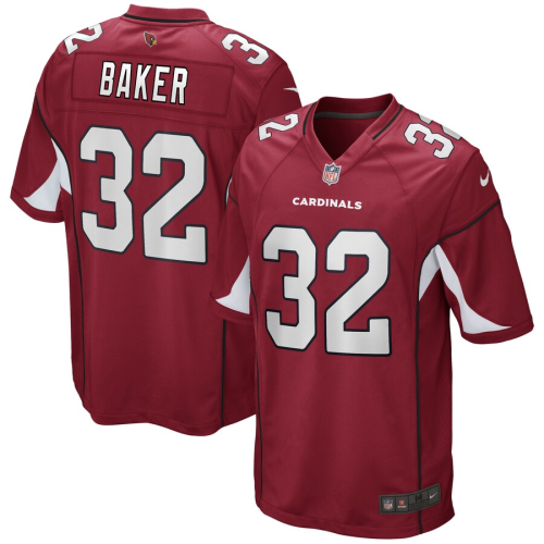 Men's Budda Baker Cardinal Game Team Jersey