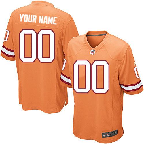 Youth Custom Orange Alternate Team Jersey