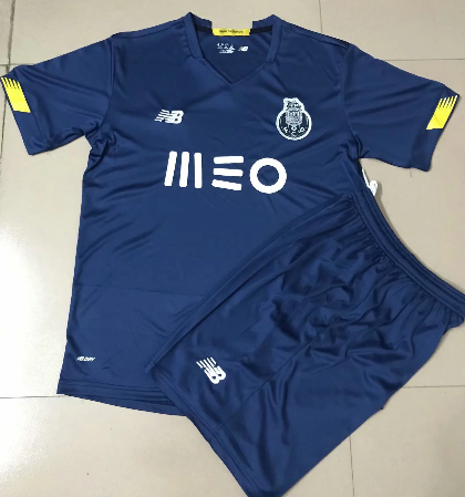 Porto 20/21 Kid's Away Soccer Jersey and Short Kit