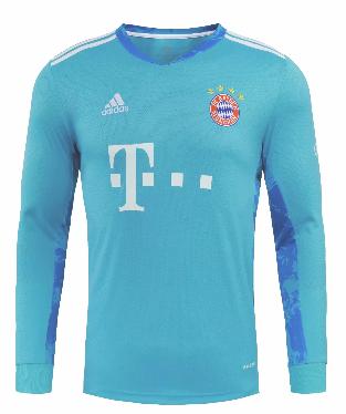 Thai Version Bayern Munich 20/21 LS Goalkeeper Soccer Jersey
