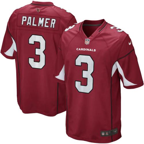 Men's Carson Palmer Cardinal Game Team Jersey