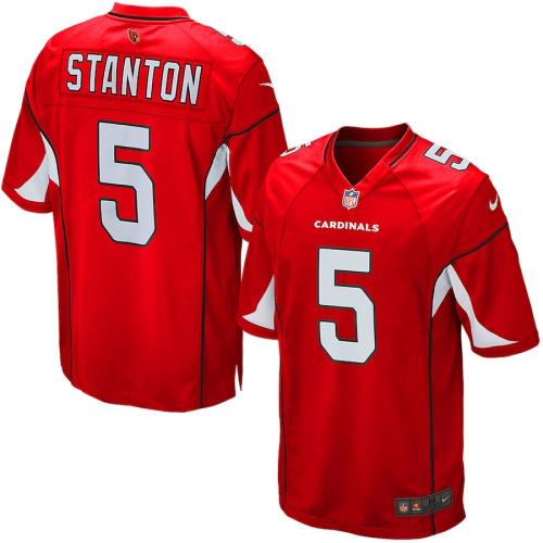 Men's Drew Stanton Cardinal Game Team Jersey