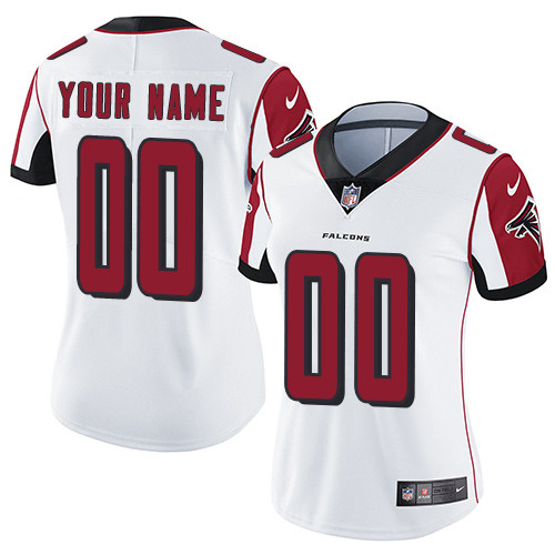 Women's White Custom Game Team Jersey
